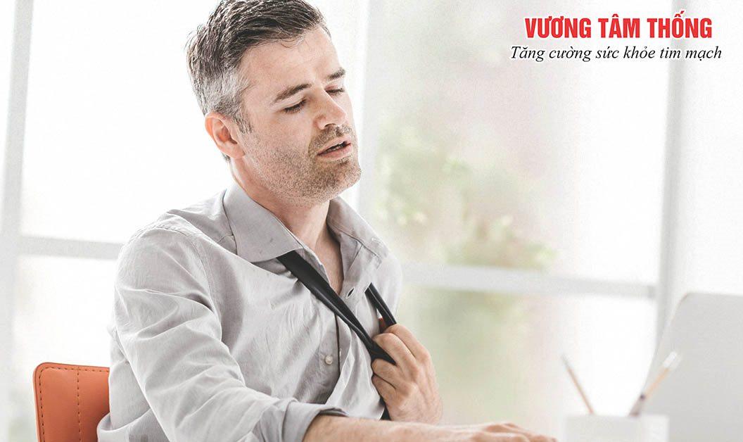Đổ mồ hôi lạnh kèm khó thở, mệt mỏi có thể là một dấu hiệu bệnh mạch vành